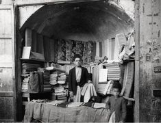 Merchant Posing with His Wares, Syria Photographer: George Rinhart Naher Osten, This Is Us Quotes, Damascus, Old Photos, Egyptian, Old Things, Poses, Black And White, Painting