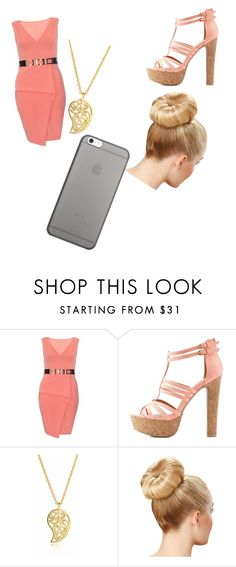 """Pink"" by katkahrdl-1 on Polyvore featuring Dorothy Perkins, Charlotte Russe, Sonal Bhaskaran and Native Union"