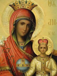 Holy Spirit, Madonna, Christ, Blessed, Virgin Mary, Rain, Roses, Art, Holy Ghost