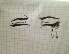 cry, drawing, and art kép