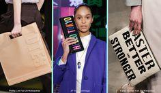 Purses making a statement at New York Fashion Week