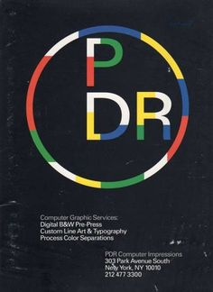 """PDR Salesman Kit"", PDR Computer Impressions, 1989"