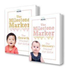 An easy workbook to track your baby's healthy milestones and precious memories.