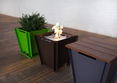 Groovebox is a flat-pack, multi-use concept that is designed for outdoor living. Uses include modern fire pits, barbecues, furniture, planters and more.