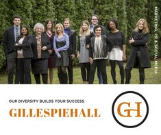 = We are multi-disciplinary. a team of public relations professionals, sociologists, digital marketing strategists, and creative content designers who can capture attention and influence actions. We are GillespieHall