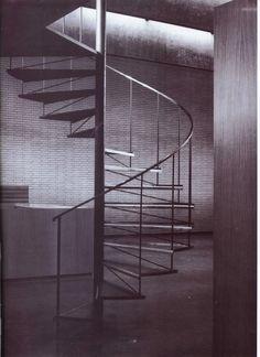 """kbilet:  """"Arne Jacobsen - St Catherine's College, Oxford, 1962  """""""