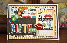 Card 13 - Happy Birthday 2 U - Scrapbook.com - #scrapbooking #cardmaking #birthday #echopark