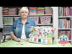 Watch Lori Holt of Bee in my Bonnet demonstrate the Clover Point Protectors Petit - Fat Quarter Shop YouTube Channel