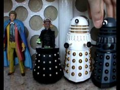 Doctor Who Action Figure Review: Revelation of the Daleks Set