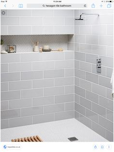 This type of thing is undeniably a formidable design alternative. Hall Bathroom, Laundry In Bathroom, Bathroom Renos, Master Bathroom, Bathroom Ideas, Shower Ideas, Bathrooms, Bathtub Remodel, Master Bath Remodel