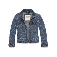 Womens Vanessa Denim Jacket - A&F