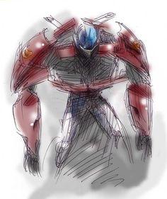 Optimus by ogata-dragon-fight