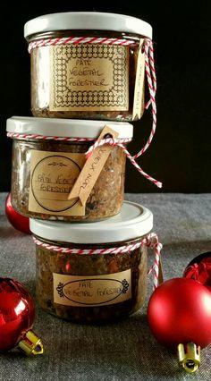 Pâté végétal forestier : Idée cadeau DIY Pesco Vegetarian, Vegetarian Day, Diy Xmas, Mousse, Veggie Recipes, Healthy Recipes, Whisky Tasting, Vegan Christmas, Charcuterie
