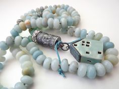 Anne Choi bead necklace quote necklace boho by mayababyjewelry, $220.00