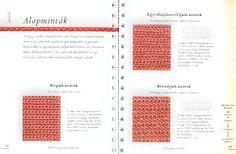 Horgolásról csak magyarul.: BETTY BARNDEN A HORGOLÁS BIBLIÁJA (LETÖLTHETŐ AZ EGÉSZ KÖNYV) Crochet, Periodic Table, Diagram, Stitches, Wallpaper, Google, Amigurumi, Mint, Bible