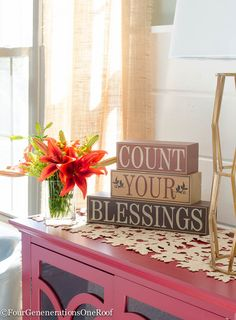 Fall Decorating Ideas {Finding Fall Home Tour 2015} Count Your Blessings