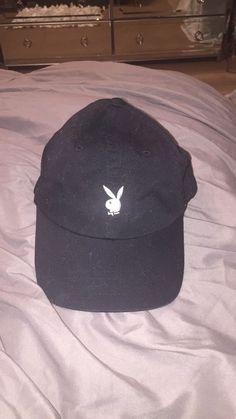 0afa4e75771 Playboy black womens adjustable hat  Playboy  BaseballCap