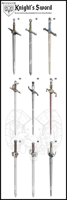 Options for a sword as part of a personal project - 15/10/21