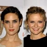 Jennifer Connelly & Kirsten Dunst with milkmaid braids