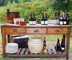 Salon cocktail bi res import es et vins d 39 t on - Faire une belle table ...
