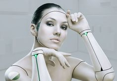 makeup robot girl - Google Search