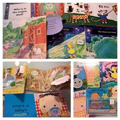 lift the flap book