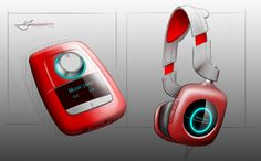 Headphone Concept by Vic Yang