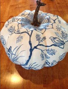 The Relished Roost: The Chinoiserie Pumpkin