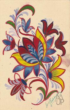 Pohľadnice Milana a Jána Pánského: Štefan Leonard Kostelníček Folk Embroidery, Embroidery Designs, Flower Sketches, African Art, Illustration Art, Illustrations, Rooster, Decoupage, Art Drawings