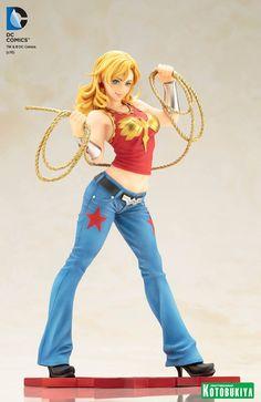 new Wonder Girl statue coming from Kotobukiya.