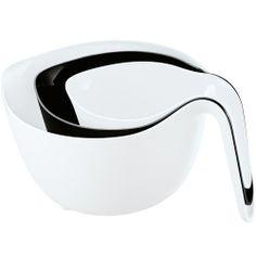 Hard to Find Monochrome Style hardtofind. | Koziol - mixxx Set3 - white/black http://hardtofind.com.au/62968_koziol-mixxx-set3-whiteblack