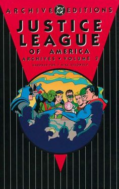 #Justice #League #Of #America #Fan #Art. Justice League Of America Archives Vol.3 Cover) By: Roy Thomas. ÅWESOMENESS!!!™ ÅÅÅ+