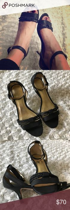 Coach size 7 In excellent condition. Coach Shoes Heels
