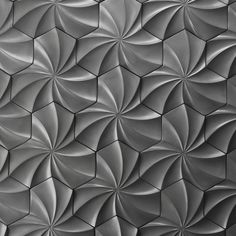 Kaleidoscope Cast Architectural Concrete Tile - Natural