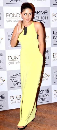 Kareena Kapoor at Lakme Fashion Week - Day 3. #Bollywood #Style #Fashion #LFW