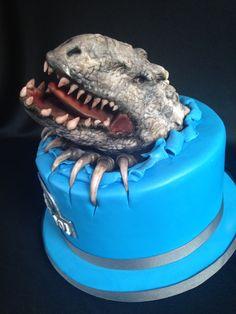 Indominus Rex Jurassic World Cake Homemade Sweetness