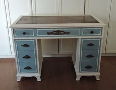 Annie Sloan Chalk Paint, Old White and Provence