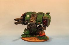 Warhammer 40k - Space Marines - Salamanders Dreadnought