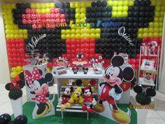 #Decoração #Mickey #Minnei confira mais alguns trabalhos acessando nossa site ou pagina no facebook www.arteemfotoefestas.com