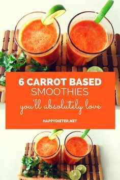 Image of 6 Carrot Based Smoothies Youll Absolutely Love