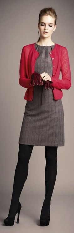 Ideas para vestirte de rojo esta navidad sin parecerte a santa