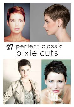 perfect pixie haircuts part 2: traditional pixie {A BEAUTIFUL LITTLE LIFE}