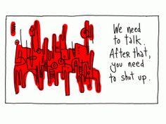 We Need to Talk - 11x14