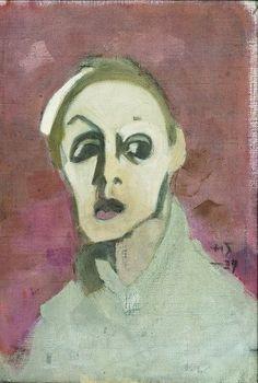 Helene Schjerfbeck (1862-1946) réalisa une quarantaine d'autoportraits sur une période de soixante-dix ans. Peu connue en France, sa réputation est essentielle en Finlande, son pays d'origine. Voici donc présentés aujourd'hui neuf autoportraits et une toile de l'artiste.