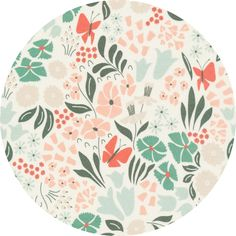 "Elizabeth Olwen for Cloud9, ORGANIC, Park Life, Hyde Park Pink  Fabric is sold by the 1/2 Yard. For example, if you would like to purchase 1 Yard, enter 2 in the Qty. box at Checkout. Yardage is cut in one continuous piece when possible.  Examples:  1/2 yard = 1 1 yard = 2 1 1/2 yards = 3 2 yards = 4   1/2 Yard Measures ~18"" x 44/45""  Fiber Content: 100% Organic Cotton   Hover over image for a larger, better view."