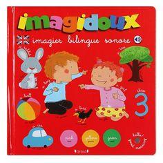 Imagidoux imagier bilingue sonore - 14,95 €Nature & Découvertes