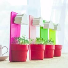 1 set 2017 Super Deal Kleurrijke Creative Cloud Opknoping Plant Bloempot Planter Home Garden Regenachtige Balkon Tafel Decoratie(China (Mainland))