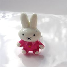 Large Miffy Pink Ring  Kitsch by millypopsuk on Etsy, $6.50