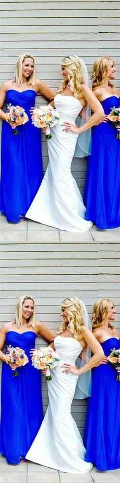 chiffon bridesmaid dresses,dresses for wedding,royal blue bridesmaid dresses,bridesmaid gowns,bridesmaid dresses,sweetheart bridesmaid dresses,simple bridesmaid dresses,cheap pbridesmaid dresses,long bridesmaid dresses