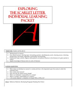 symbolism in scarlet letter graphic organizer The scarlet letter nathanielhawthorne graphic organizers a symbol is a thing that stands for or represents both itself and.